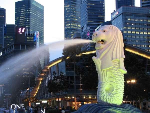 Merlion, landmark di Singapura (Fitraya/detikTravel)