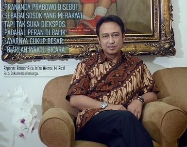 Prananda Prabowo: Biarlah Waktu yang Berbicara