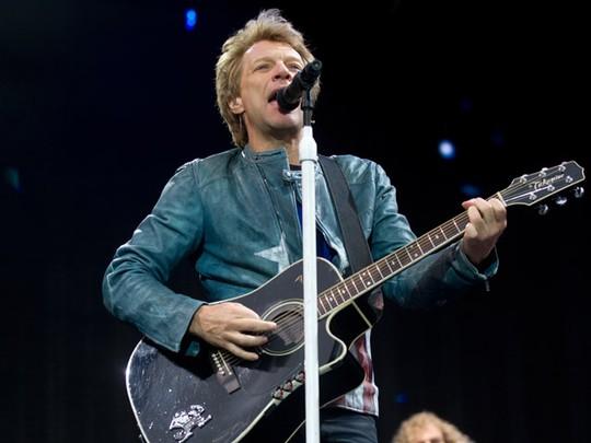 Berusia 51 Tahun, Jon Bon Jovi Tetap Energik