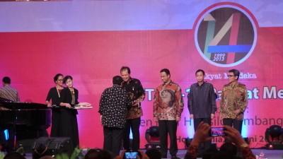 CT, Anis Baswedan dan Johan Budi Terima Penghargaan dari Rakyat Merdeka