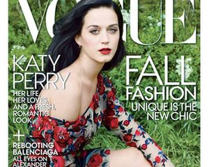 Cantiknya Katy Perry di Pemotretan Majalah Vogue