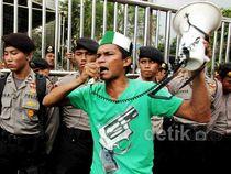 Kantor Pertamina Juga Jadi Sasaran Demo BBM