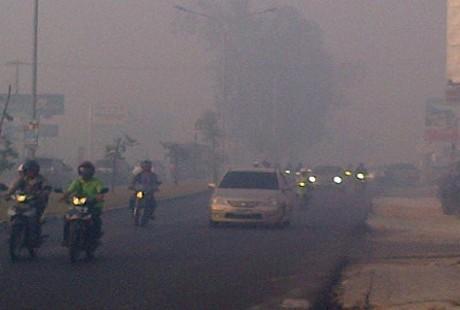 Kabut Asap di Pekanbaru
