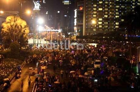 Ribuan Polisi Disiapkan Jaga Keamanan Jakarta Nite Festival