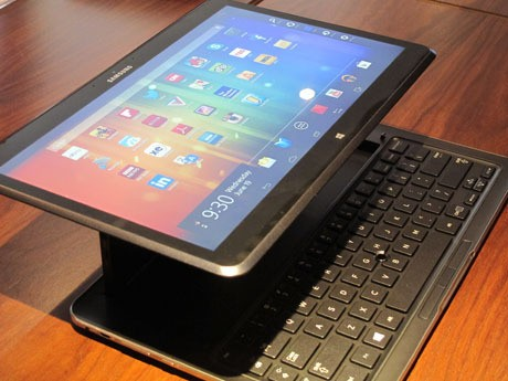 Samsung Ativ Q, Tablet Hybrid Unik dengan Dual OS