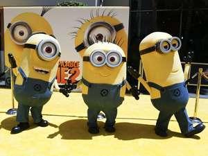 Bertabur Minions di Premiere Despicable Me 2