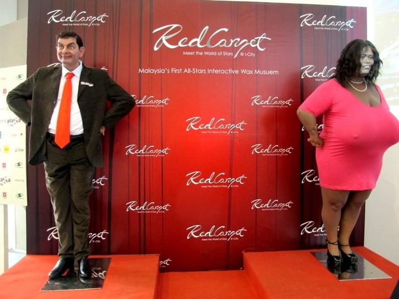 Gambaran Red Carpet (Shafa/detikTravel)