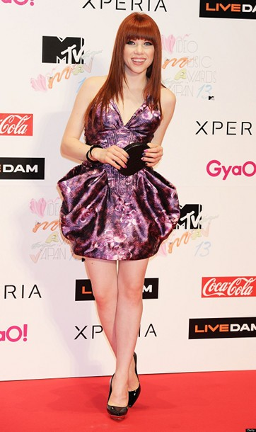 Carly Rae Jepsen di acara MTV Video Music Awards