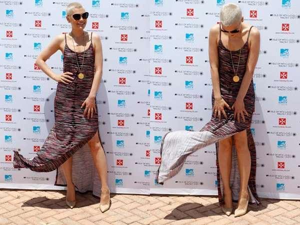 Ups! Dress Jessie J Tertiup Angin