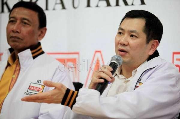 Wiranto-HT Akan Deklarasi Capres Cawapres di Hotel Grand Mercure Jakpus