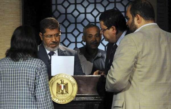 Presiden Mesir Mohamed Morsi Digulingkan