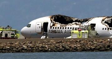 Pesawat B-777 Asiana Airlines Jatuh di San Fransisco, 1 Tewas Puluhan Luka
