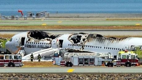 Korban Tewas Kecelakaan Asiana Airlines Bertambah 1 Orang