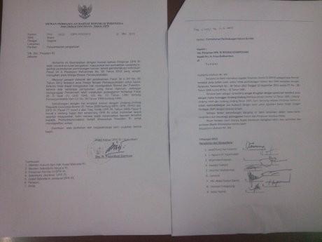 Ini Surat Priyo Yang Fasilitasi Koruptor Gugat Pp 992012