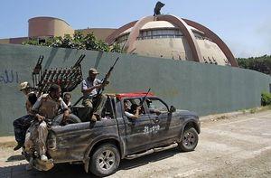 Bekas Rumah Khadafi Akan Jadi Taman Hiburan