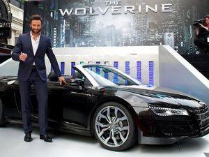 Audi R8 Nongol di The Wolverine