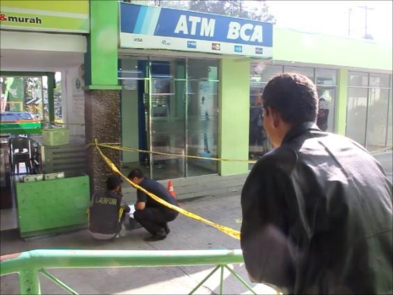 Anjing Pelacak Sergap Seorang Pria Terkait Perampokan ATM BCA di Medan