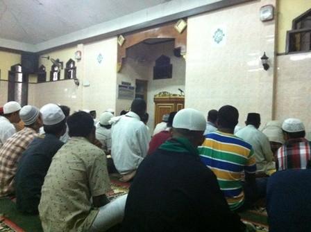 Khotbah Tarawih di Masjid Al Muttaqien