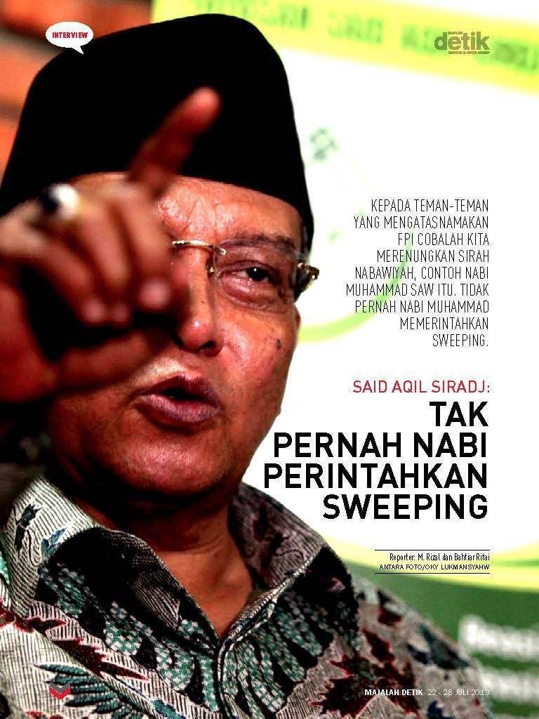 PBNU Dukung Sikap Tegas SBY terhadap FPI