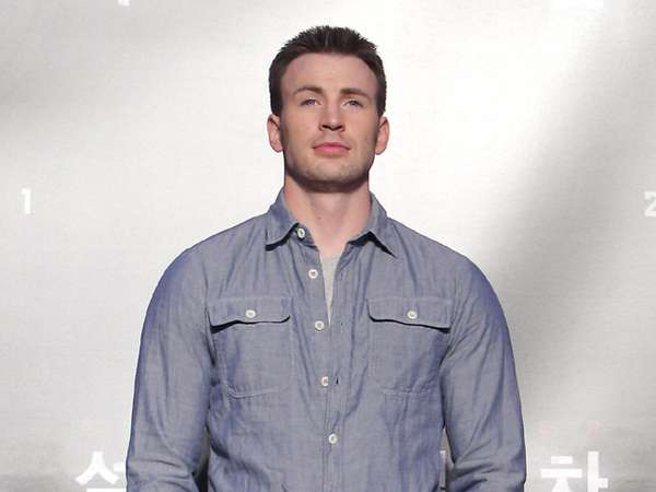 Si Tampan Chris Evans di Korea