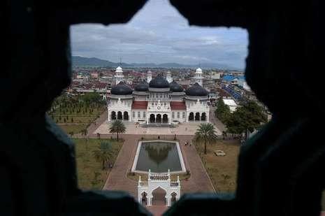 Masjid Raya Baiturrahman, Aceh (Wahid Masrukan/ACI)