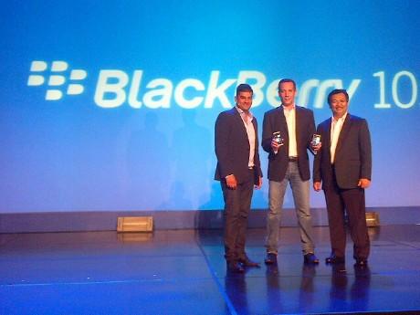 Peluncuran BlackBerry 10 (rou/detikINET)