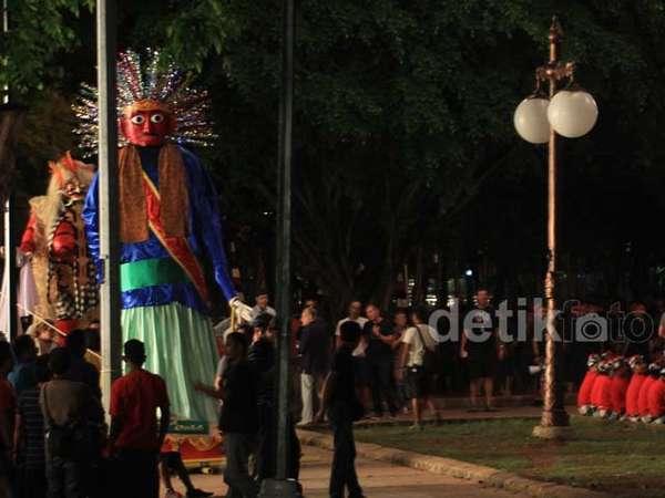 Suasana Lokasi Syuting Chris Hemsworth di Jakarta