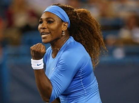 Serena Tembus Final Setelah Tundukkan Li Na