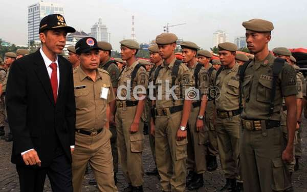 PKL: Jokowi Doang Gubernur yang Bisa Rombak Tanah Abang