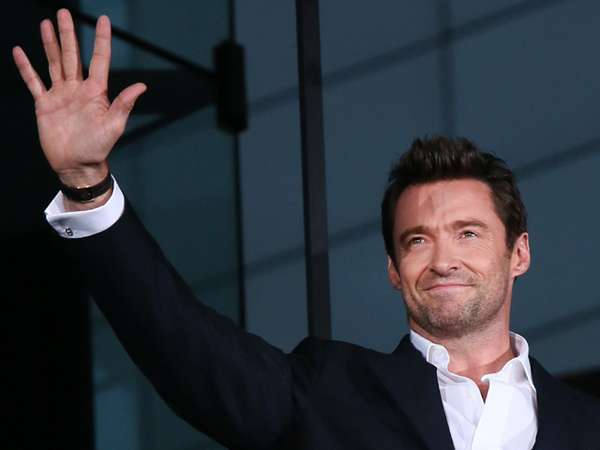 Hugh Jackman Necis di Premiere Wolverine