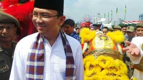 Keliling Jakarta Ala Ahok di Lebaran Betawi