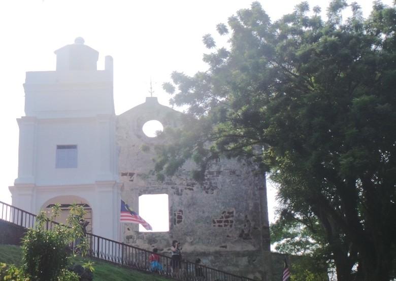 Saint Paul Church, Melaka (Devy/ detikTravel)