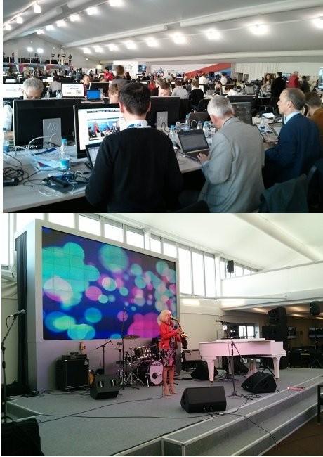 Serba Gratis di Media Centre KTT G20