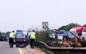 Teliti Bekas Rem Lancer Mobil Dul, Polisi Libatkan ATPM Mitsubishi