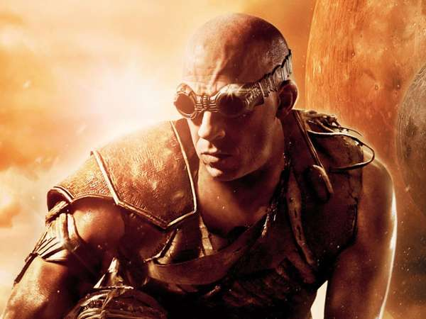 Aksi Vin Diesel di Film Riddick