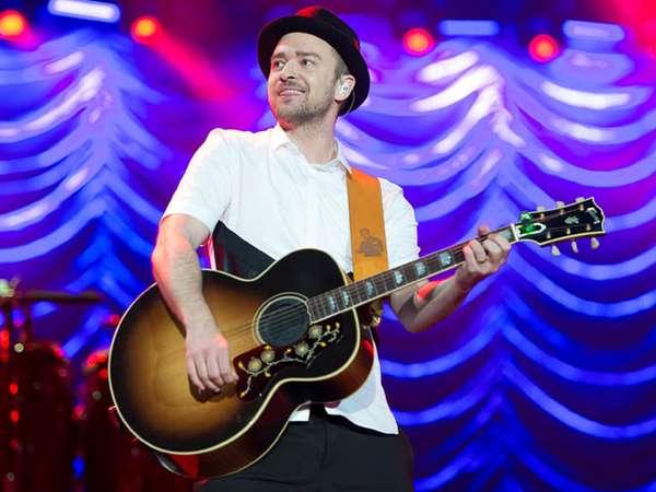 Berdansa dengan Justin Timberlake di Festival Rock in Rio