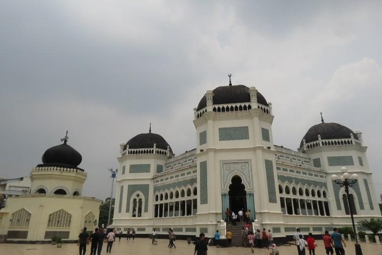Masjid Raya Al Mashun Medan (Fitraya/detikTravel)
