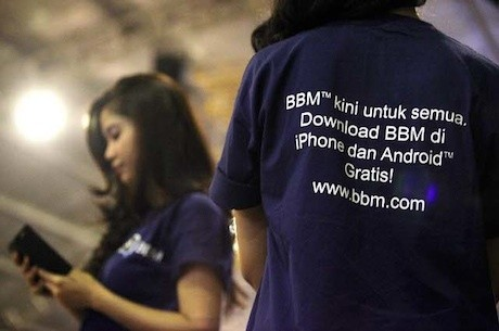 BBM hadir di iOS dan Android (rengga/detikINET)