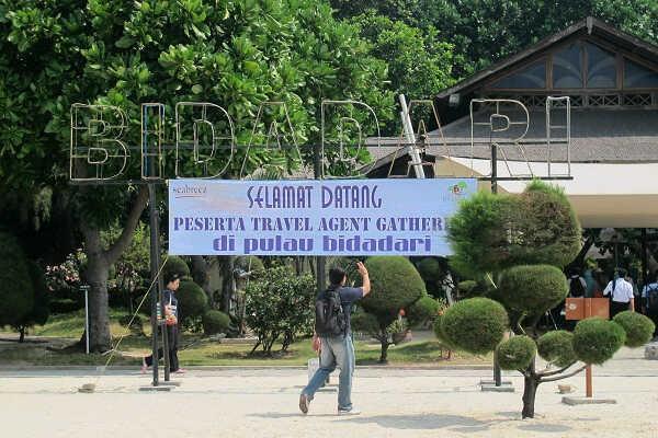 Pulau Bidadari (Dewi/detikTravel)