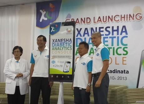 Peluncuran aplikasi Xanesha (erna/detikINET)