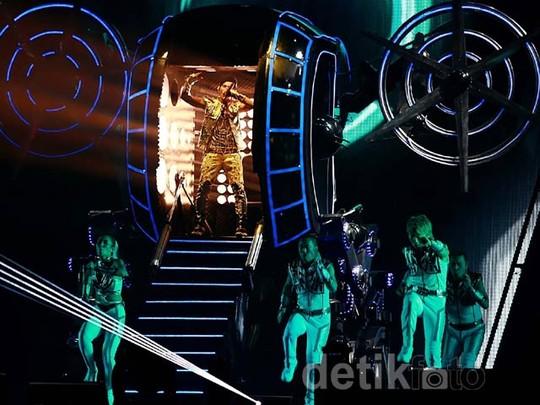 Konser Memukau Jay Chou di Jakarta