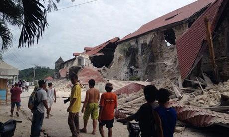 Gempa 7,2 SR Rubuhkan Banyak Gedung Bersejarah di Filipina