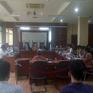 Jadi Saksi di Sidang KPPU, Anas Dicecar Pertanyaan oleh Investigator