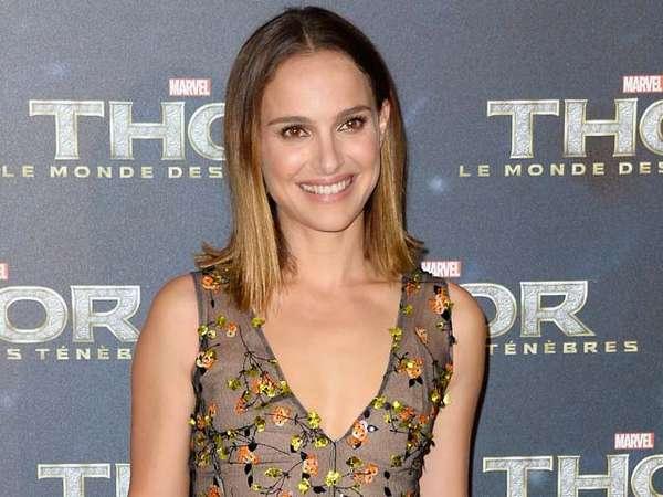 Natalie Portman di Premiere Thor: The Dark World