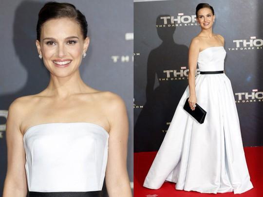 Cantik Bergaun Putih Natalie Portman