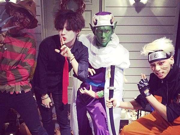 Kostum Halloween ala SHINee