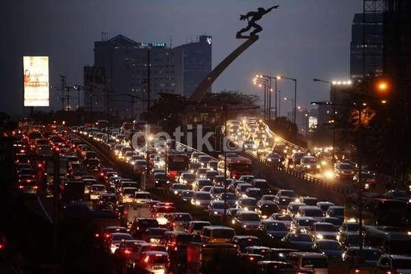 Kerugian Akibat Macet di Jakarta Rp 128 Triliun/Tahun, Dua Kali APBD