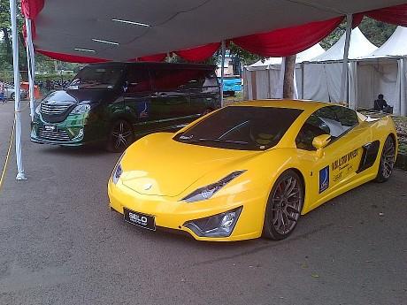 Mobil Listrik Selo dan Gendhis Dipamerkan di Senayan