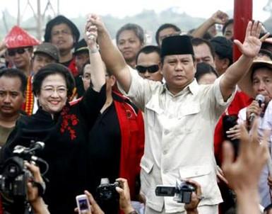 PDIP Ungkit Kenangan Pahit Duet Mega-Prabowo di 2009