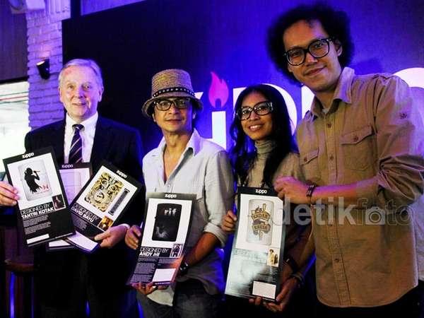 Desain Pemantik Api ala 5 Musisi Indonesia